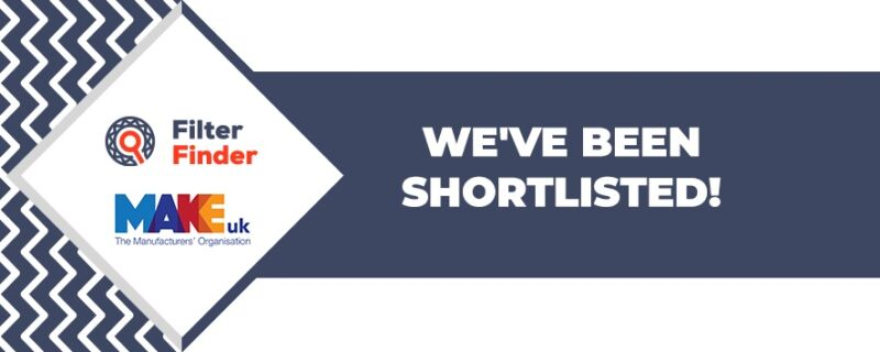 Nottinghamshire-based filter manufacturer is shortlisted for Growth & Strategy Award at this year's MakeUK's Manufacturing Awards