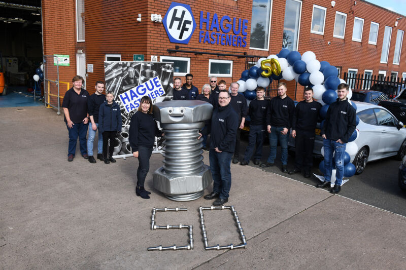 £100,000 CNC investment delivers a perfect 50th birthday present for Hague Fasteners