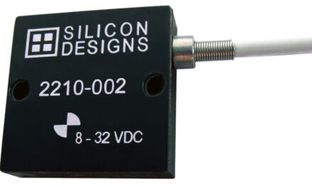 Low-cost, single axis MEMS capacitive accelerometers from Silicon Designs offer low-noise measurements on up to three orthogonal axes