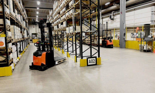 UK forklift operator crisis is helping drive up sales of automated handling solutions