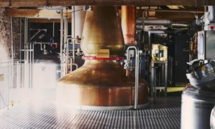 Musk Process Services supports The Lakes Distillery as it invests to increase production