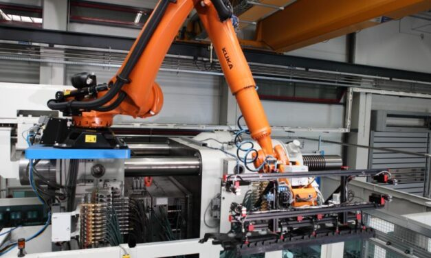 Efficient automation in the plastics industry