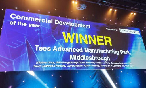 Industry award for cutting edge manufacturing park